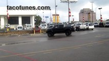 Lifted Toyota Tacoma Double Cab Doing Donuts - not your average mall crawler!