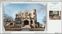 Photoshop tutorial: Removing lens distortion with Adaptive Wide Angle filter   lynda.com