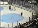 Hockey player vs Entire Bench