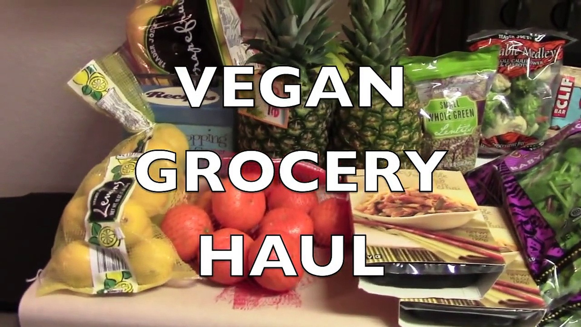 VEGAN GROCERY HAUL + NEW VEGAN FOODS