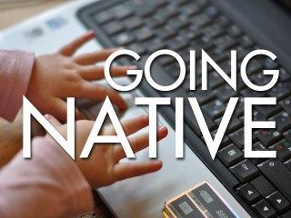 Going Native panel at Raindance Web Fest 2014 with Jack Howard, Christopher Bingham, Rory Uphold and Brett Snelgrove