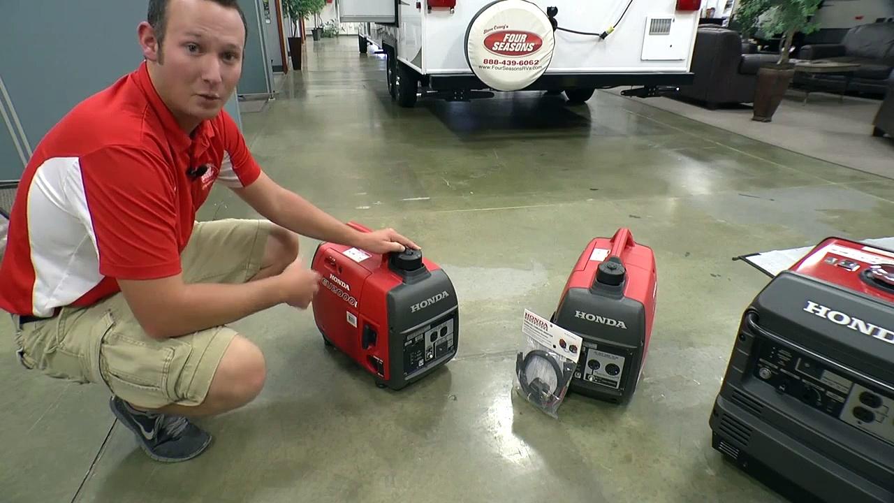 RV Generators Honda 3000 and Honda 2000