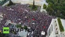 Vea cómo este drone captó una protesta en Grecia