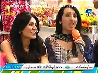Amir Liaquat Flirting With UK Host And Models In Live Show