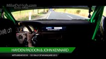 ONBOARD Hayden Paddon & John Kennard Mitsubishi Evo IX WRC Rally Maximum Attack