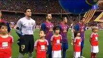 Abucheos al himno y al príncipe Felipe en el estadio Calderón - 25/5/2012