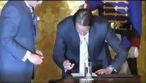 Posesión de Ministro del Deporte, José Francisco Cevallos