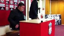 Darren Farley @ Anfield (Rafa Benitez, Steven Gerrard & Jam