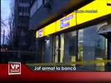 Jaf armat la banca