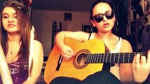 me and My sister singing uncover - zara Larsson