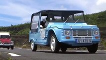 Sortie Méhari 2CV, dérivés et voitures longtemps à l'île de la Réunion (Sainte-Rose)