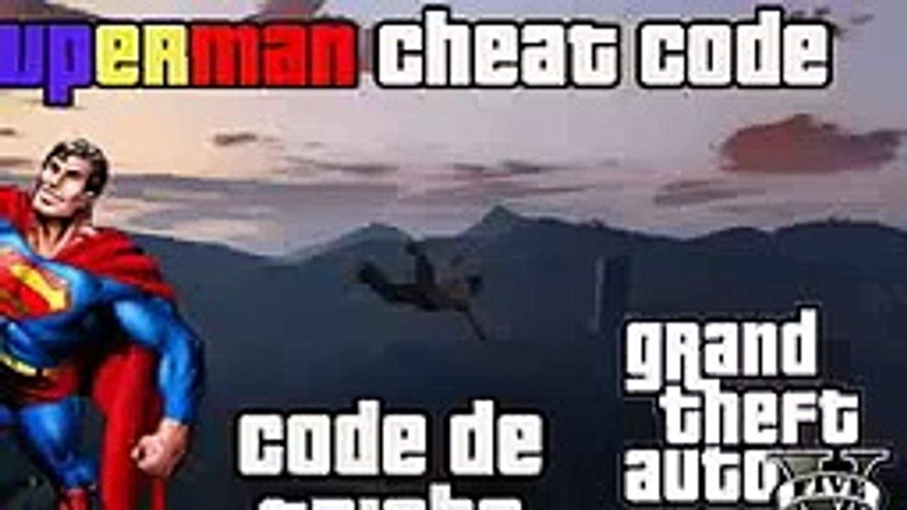 GTA V Cheat Code Superman PS3 XBOX 360