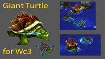 Giant turtle War turtle addon - Warcraft III: Frozen Throne Game