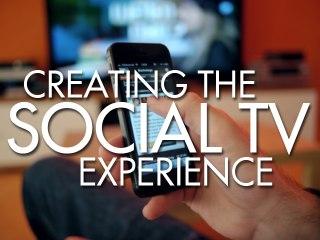 Creating The Social TV Experience panel at Raindance Web Fest 2014