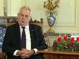 Vánoční poselství prezidenta České republiky Miloše Zemana