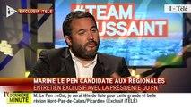 """TextO' : Marine Le Pen : """"Je serai tête de liste pour la région Nord-Pas-de-Calais-Picardie"""""""