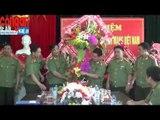 Lãnh đạo Bộ Công an, Công an tỉnh tặng hoa chúc mừng Báo Công an Nghệ An