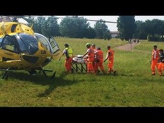14enne di Bellaria cade dalla bici e batte la testa, in gravi condizioni all'ospedale
