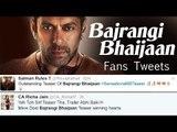 Bajrangi Bhaijaan Official TRAILER OUT  Salman Khan, Kareena Kapoor   Insane Salman Khan FANS TWEET