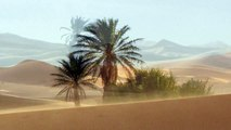 Unique animated photos of Erg Chebbi, a desert in south-eastern Morocco and Merzouga