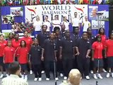 NYC Youth Chorus performs at 2006 August Ceremony - World Harmony Run