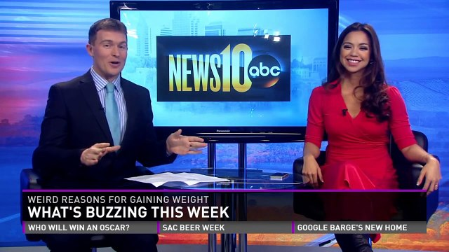 What's Buzzing:  weird reasons for gaining weight, office fitness gadgets, and dog shaming