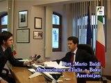 MSCtv intervista Ambasciatore Mario Baldi