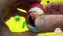 Kinder Surprise Egg Learn-A-Word! Lesson 'I' (Teaching Spelling & Letters Unwrapping Eggs & Toys)