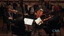 Britten - String Quartet No. 2 in C major for Strings, Op. 36, Mvt 2 - Escher String Quartet - CMS