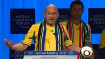 Davos Annual Meeting 2010 - Davos Kick-off for the 2010 FIFA World Cup in South Africa