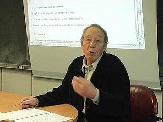 Jean-Pierre Terrail, EHESS (1/6)