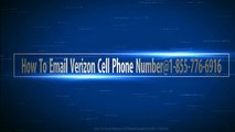 how to email verizon cell phone number@1-855-776-6916