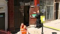 Police train for central London terror attack