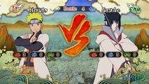 Hokage Sasuke vs Hokage Naruto (Naruto Storm 3 Full Burst Mod)