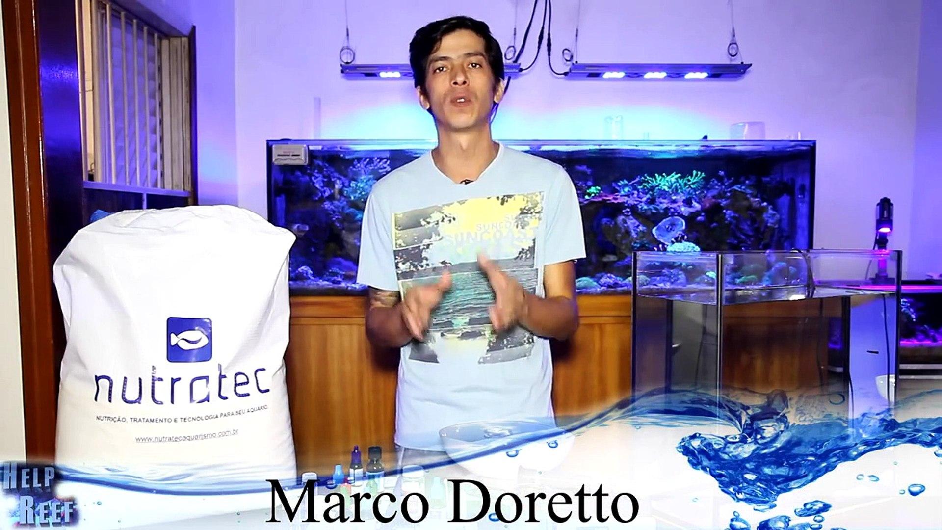 Aquarismo Marinho Sal demonstração do sal Nutratec