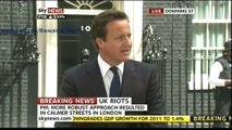 PM David Cameron statement on UK RIOTS 10/8/2011