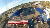 SkyCoaster at Fun Spot in Orlando HD POV