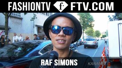 Raf Simons Arrivals Spring/Summer 2016 | Paris Men's Fashion Week | FashionTV