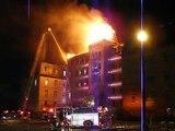 14 mai 2009 - Incendie à l'université du Québec à Rimouski