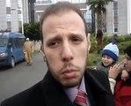 Mouvement 20 fevrier au Roi Maroc Mohamed 6 Maroc شباب حركة 20 فبراير إلى محمد السادس ملك المغرب هيئة الدفاع