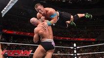 WWE USA Champion John Cena vs. Cesaro - United States Championship Wrestling Match - Raw, June 29, 2015