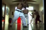 Shan Dojo Martial Arts Shadow Boxing Explosion At Ocean