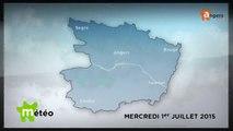 METEO JUILLET 2015 [S.7] [E.1] - Météo locale - Prévisions du mercredi 1er juillet 2015