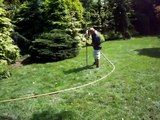 Tree Health: Soil remediation in turf areas around trees to improve drainage