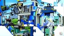 Cartoon Lego City. Police station 60047. Lego cartoon. Review of set. LEGO CITY POLICE STATION