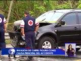 Exceso de velocidad habría causado accidente que dejó seis fallecidos