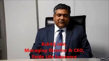Exide Life Insurance MD & CEO, Kshitij Jain, talks to BusinessLine