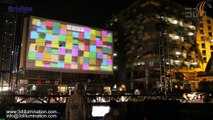 Projection Mapping - Pakistan- Brighto Stain free-Projection Mapping Sh
