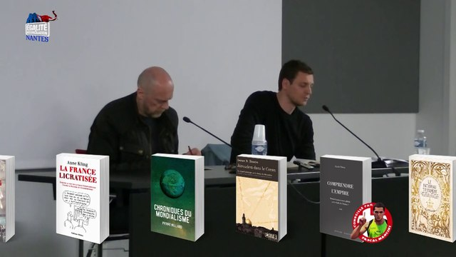 Jusqu'où vont-ils descendre ? – Conférence d'Alain Soral et Pierre de Brague à Nantes (09/05/2015) Partie 1