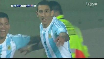 Copa America 2015: Di Maria Goal Argentina 6 – 1 Paraguay